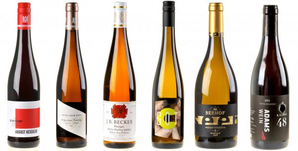 Weinpaket Rheingau-Rheinhessen - 6 x Von der Ebsch Seit'