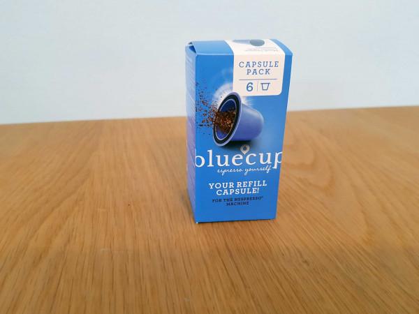 bluecup Capsule pack 6 RT mit 6 capsules
