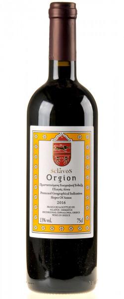 Sclavos Wines Orgion 2016