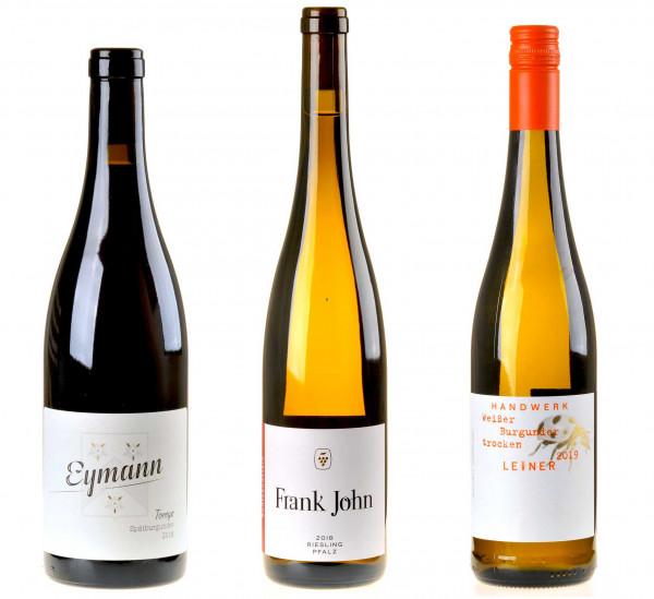 Pfalz-Weinpaket zum DWI-OnlineSeminar Deutschlands Weinregionen
