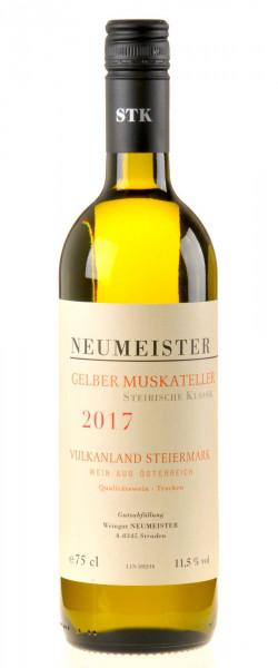 Neumeister Gelber Muskateller Steirische Klassik 2017