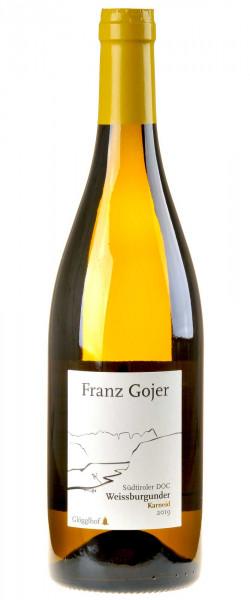 Franz Gojer - Glögglhof Südtiroler Weißburgunder Karneid 2019