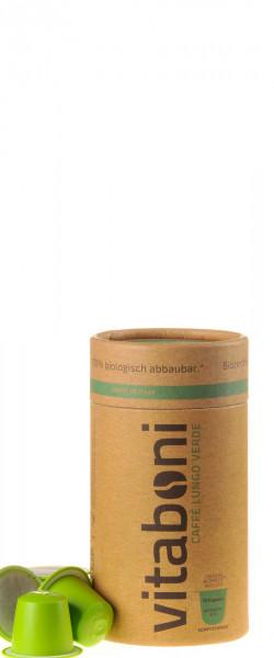 Vitaboni Bio Caffé Lungo Verde 10 Kapseln komplett kompostierbar