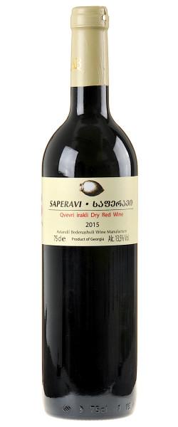 Avtandil Bedenashvili Wine Manufactur Saperavi Qvevri 2015