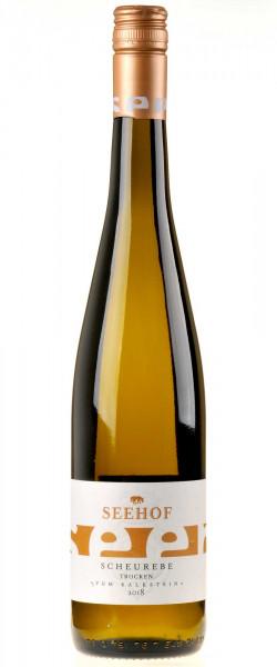 Weingut Seehof Scheurebe vom Kalkstein 2018