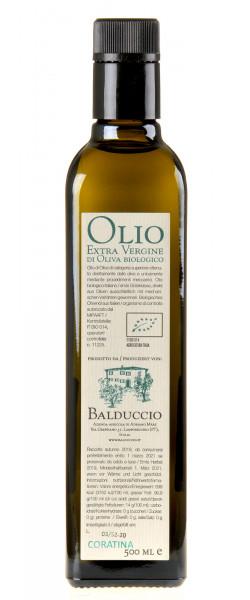 Balduccio Olivenöl Extra Vergine Bio 2019 500ml