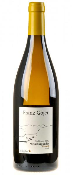 Franz Gojer - Glögglhof Südtiroler Weissburgunder Karneid 2018