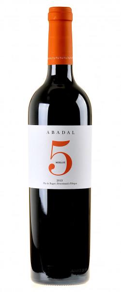 Abadal 5 Merlot 2013