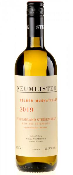 Neumeister Gelber Muskateller Vulkanland 2019 Bio