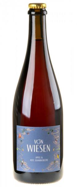 Von Wiesen Apfel & Rote Johannisbeere Perlwein