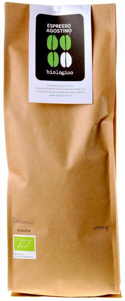 Espresso Agostino Biologico: Tanzania Robusta 1kg