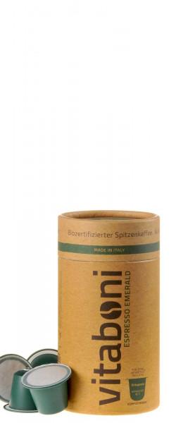 Vitaboni Bio Espresso Emerald 10 Kapseln komplett kompostierbar