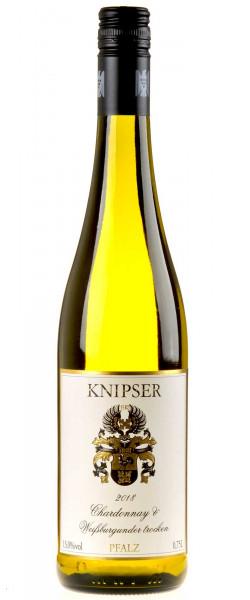 Weingut Knipser Chardonnay & Weißburgunder 2018