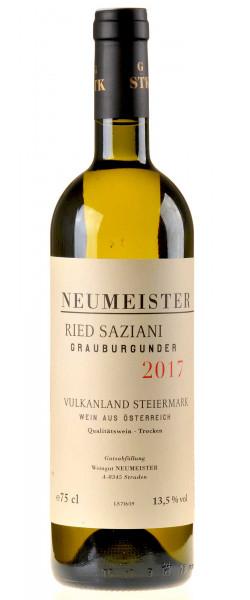 Neumeister Grauburgunder Ried Saziani GSTK 2017