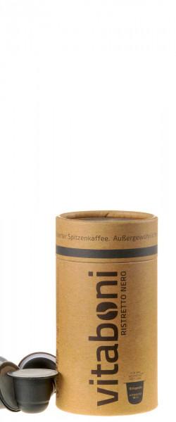 Vitaboni Bio Ristretto Nero 10 Kapseln komplett kompostierbar
