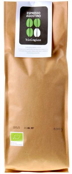 Espresso Agostino Naturale: Äthiopien Guji Arabica 1kg