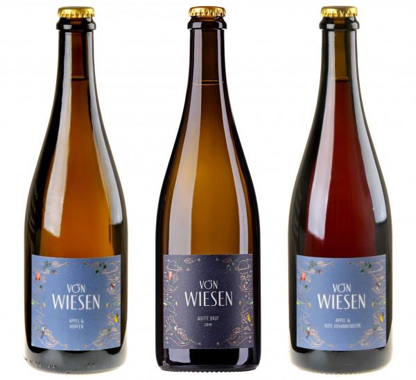3er-Weinpaket Extra mit Niko Brandner unterm Obstbaum zum vinocentral-Livestream 3 Gläser