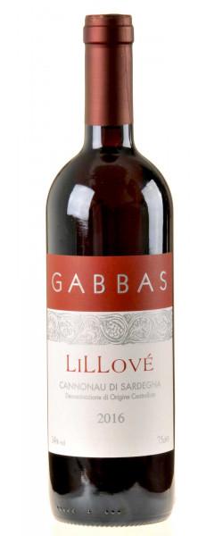 Gabbas Lillové Cannonau di Sardegna DOC 2016