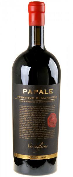 Varvaglione Linea Oro Papale Primitivo 2016 Magnum