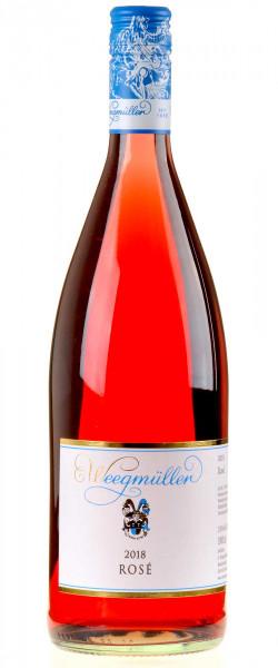 Weingut Weegmüller Rosé 1 Liter 2018