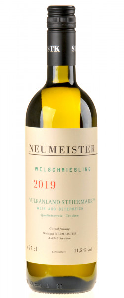 Neumeister Welschriesling Vulkanland 2019