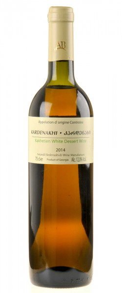 Avtandil Bedenashvili Wine Manufactur Kardenkhi Dessert Wein 2014