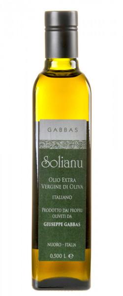 """Gabbas """"Solianu"""" Olivenöl Extra Vergine 2019 500ml"""