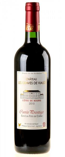 Château les Graves de Viaud Côtes de Bourg Cuvée Prestige 2015