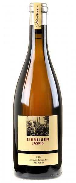 Weingut Ziereisen Jaspis Grauer Burgunder Alte Reben unfiltriert 2014