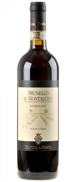 Tenuta di Sesta Brunello di Montalcino Duelecci Ovest Riserva 2012