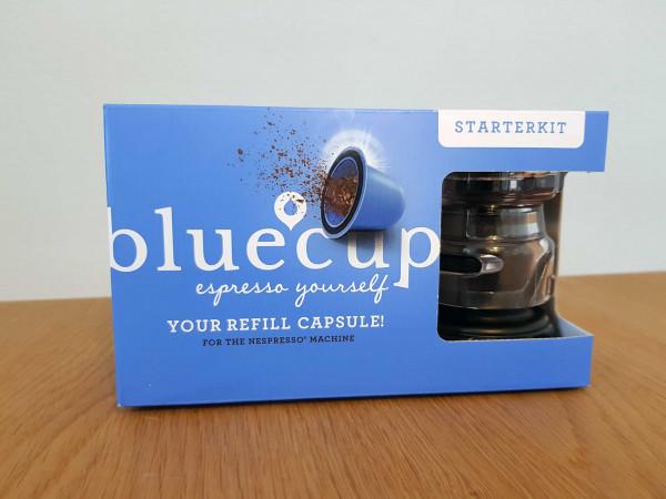 bluecup Starterkit RT mit 2 capsules und 100 lids