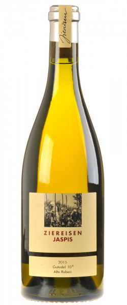 Weingut Ziereisen Jaspis Gutedel 10 hoch 4 Alte Reben 2015
