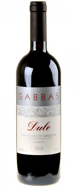 Gabbas Dule Cannonau di Sardegna 2015