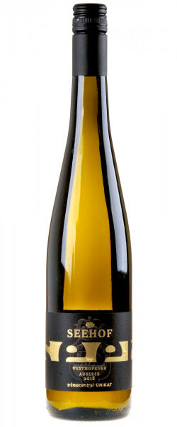 Weingut Seehof Westhofener Auslese vinocentral UNIKAT 2018