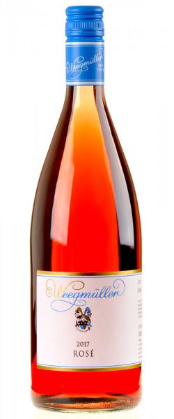 Weingut Weegmüller Rosé 1 Liter 2017