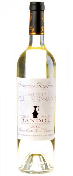 Domaine Ray Jane Cuvée de la ville de Sanary Bandol Blanc Bio 2019
