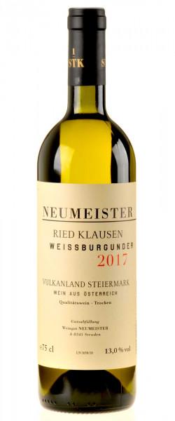 Neumeister Weißburgunder Klausen Erste SKT Lage 2017