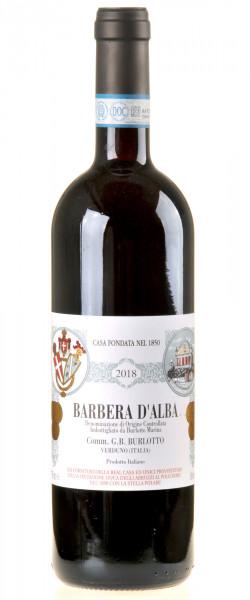 Comm. G.B. Burlotto Barbera d'Alba 2018