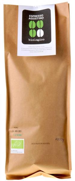 Espresso Agostino Biologico: Peru Tunki Arabica 1kg