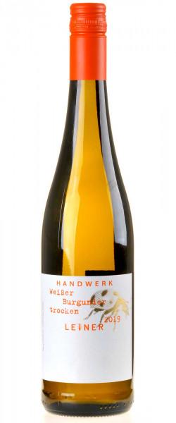 Weingut Leiner Weißer Burgunder- Handwerk - 2019