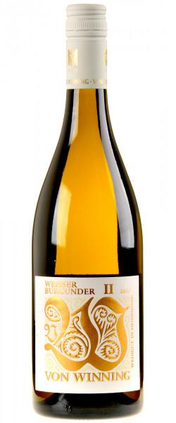 Von Winning Weißer Burgunder II 2017