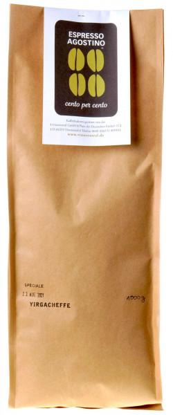 Espresso Agostino Cento per cento: Äthiopien Yirgacheffe Arabica 1kg