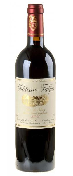 Château Falfas Côtes de Bourg Bordeaux 2015