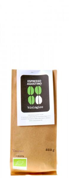 Espresso Agostino Biologico: Tanzania Robusta 250g