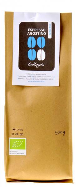 Espresso Agostino Bellagio koffeinfrei 500g