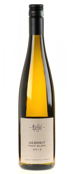 Domaine Rieffel Pinot Blanc Gebreit 2015
