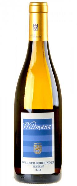 Weingut Wittmann Weißer Burgunder Reserve 2018 Bio