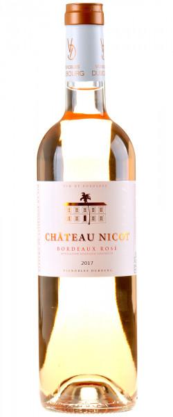 Château Nicot - Vignobles Dubourg Bordeaux Rosé Sec 2017