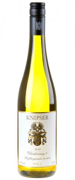 Weingut Knipser Chardonnay & Weißburgunder 2019