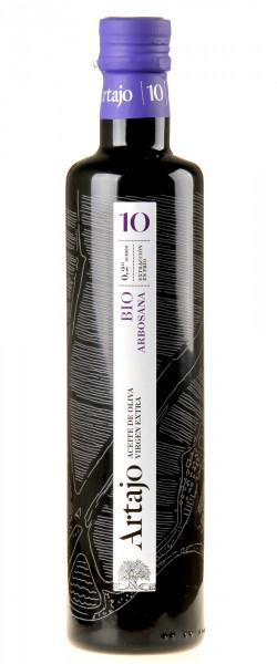 Artajo 10 Arbosana Olivenöl Extra Vergine Bio 2019 500ml